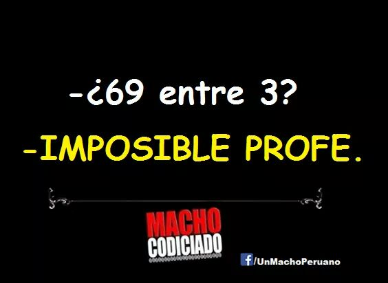 69 entre 3 imposible profe
