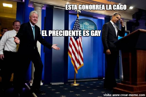 el presidente es gay