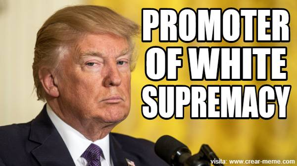 PROMOTER OF WHITE SUPREMACY